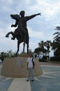 Antalya Yavuz Ozcan park Aladdini Keykubat Statue