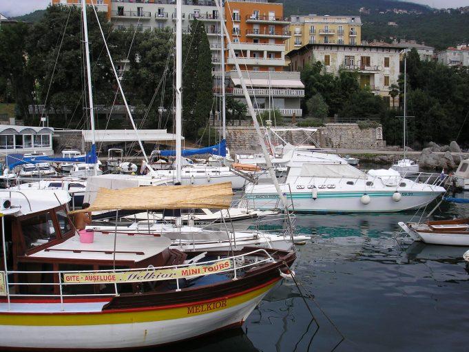 Морской порт Опатии