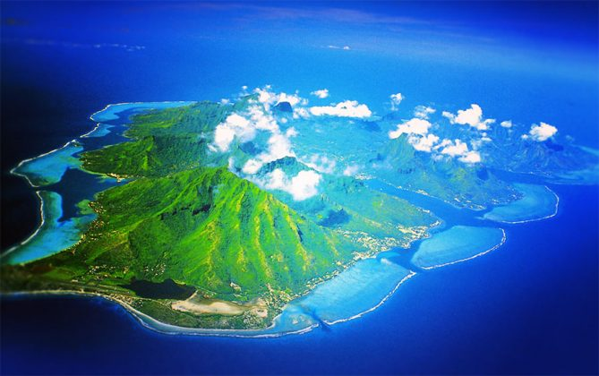 Đảo Polynesia thuộc Pháp