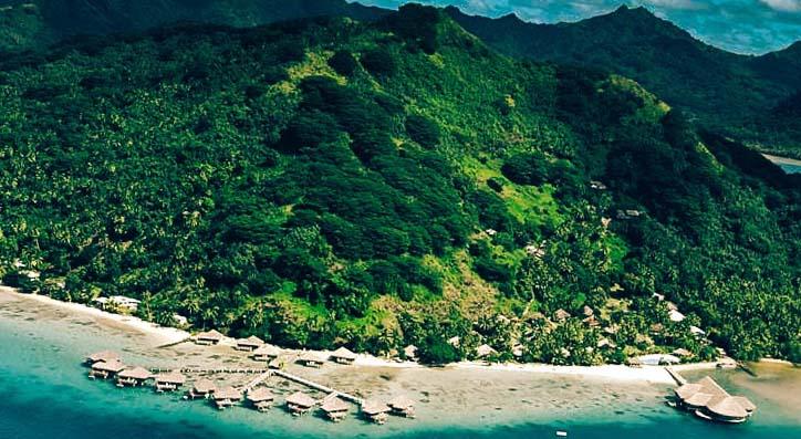 надводный отель фото с воздуха