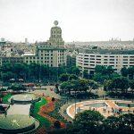 Площадь Каталонии, г. Барселона