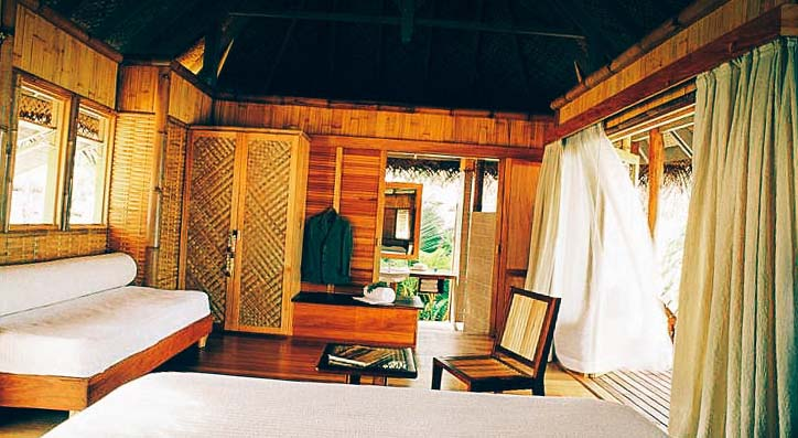 ruim kamer by die Tikehau Pearl Beach Resort