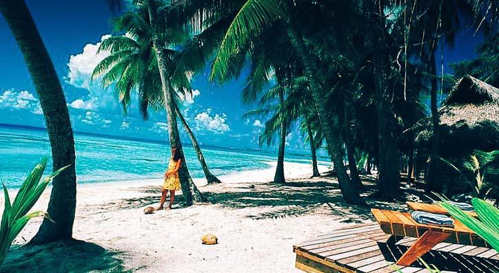 красива местност хотел Tikehau Pearl Beach Resort
