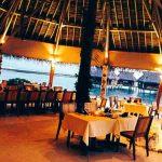 ресторан на веранде