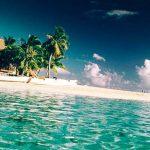 фишинебельный пляж отеля Tikehau Pearl Beach Resort