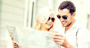 Два туриста и карта
