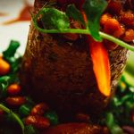 блюда английской кухни в ресторане отеля Бакленд