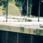 bagno, controsoffitti di pietra