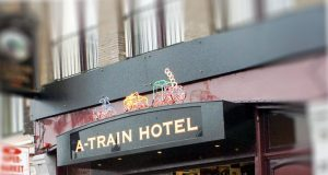 A train hotel Amsterdam