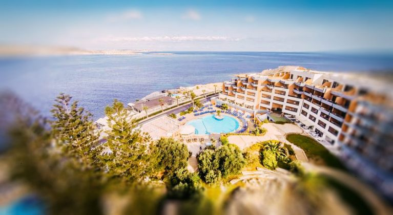 Готель Dolmen Resort Hotel & SPA вид сверху