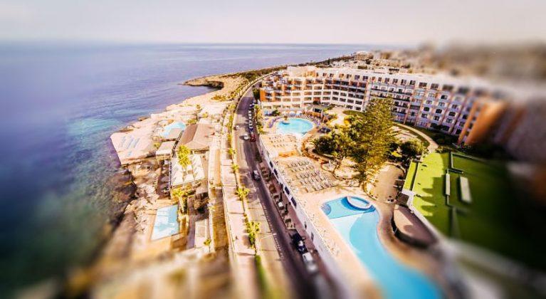 Otel Dolmen Resort Otel & kuşbakışı görünümünden SPA görünümü