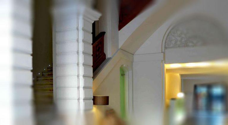 Пошукаў архітэктура гатэля Hospes Palau de La Mar