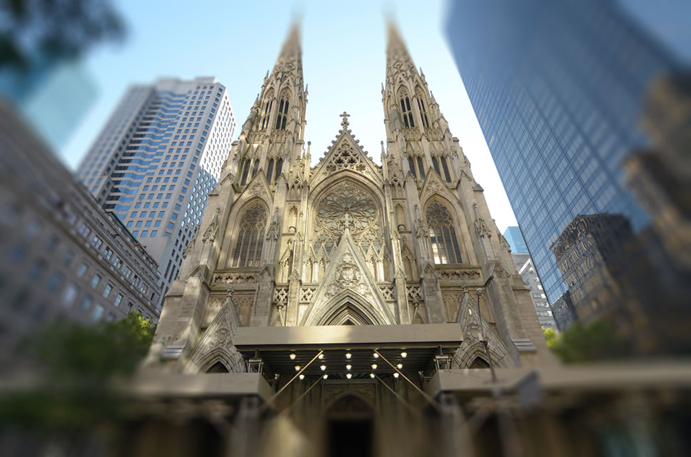 St Patrick-katedraal in New York City