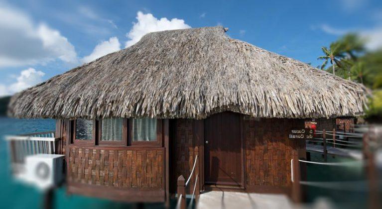Sunrise veden bungalow - Hotelli Le Maitai Polynesia