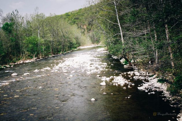 Mountain River in Western Verginii