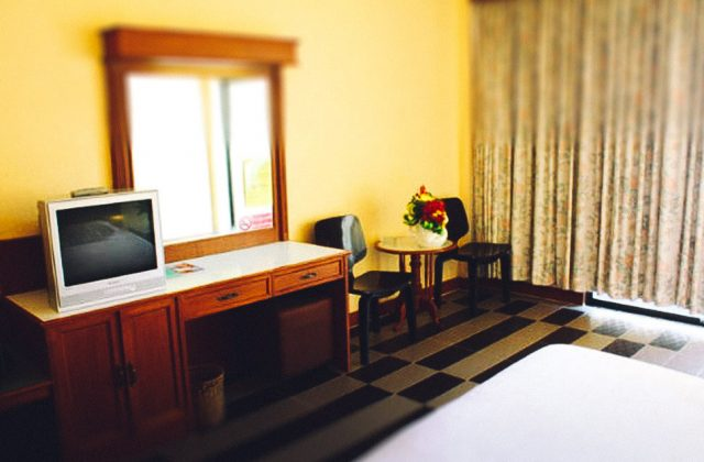 single room in the hotel Garden in North Pattaya