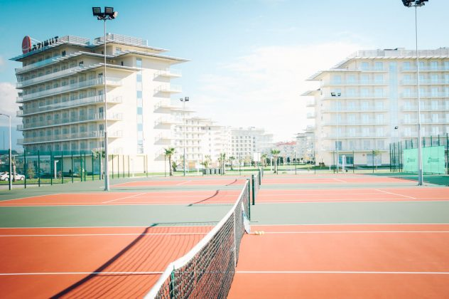 Теннисный корт Парк-Отель Сочи