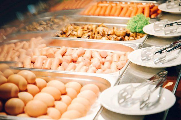 Ăn sáng buffet tại khách sạn Park Hotel Sochi