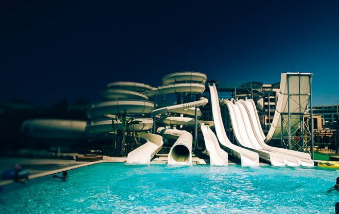 Opvarmet pool Kaya Palazzo Golf Resort 5*