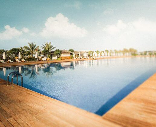 Piscina com aquecimento Hotel Maxx Real Belek Golf Resort 5*