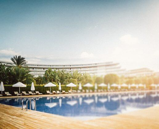 outdoor swimming pool with heating Hotel Maxx Royal Belek Golf Resort 5*