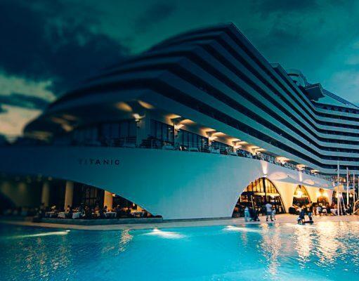 Знаменитая гостиница Titanic Beach Lara 5*